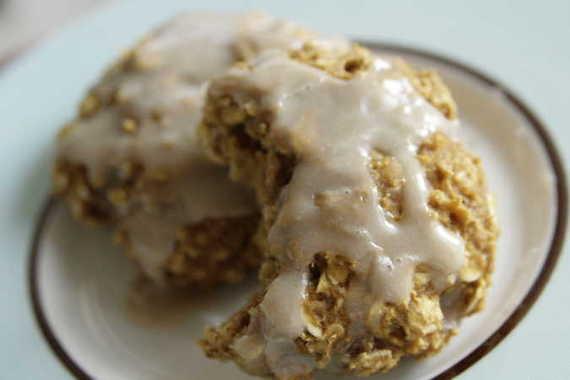 Low Fat Pumpkin Oatmeal Cookies 24