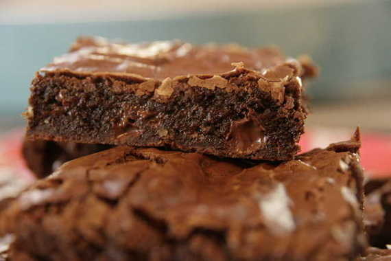 recipe: how to get flaky top on brownies [8]