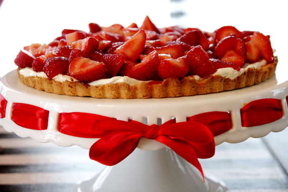 and here s my pie boozy summer strawberry tart this