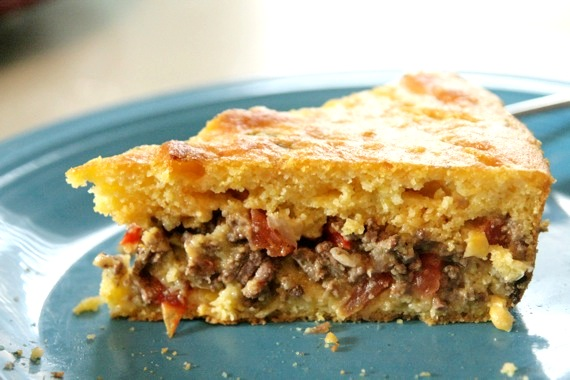 Mexican Cornbread With Ground Beef Game-Day Mexican Cornbread