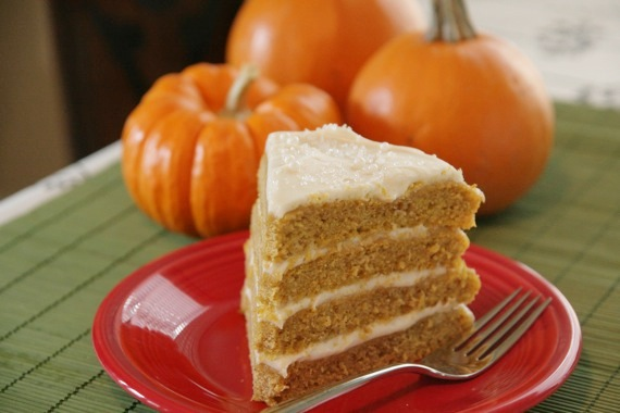 ... Spice Cake with Maple Cream Cheese Frosting... - Sing For Your Supper