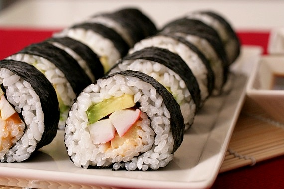 roll is a sushi rolling mat california roll special california rolls ...