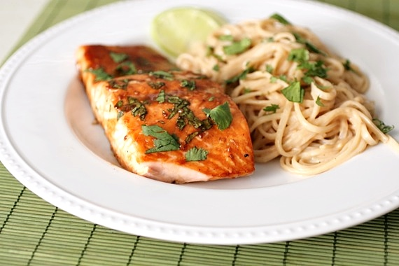 Sing For Your SupperAsian Glazed Salmon... - Sing For Your Supper