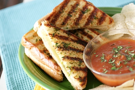Mexican Grilled Cheese Sandwiches… Wednesday, April 18, 2012