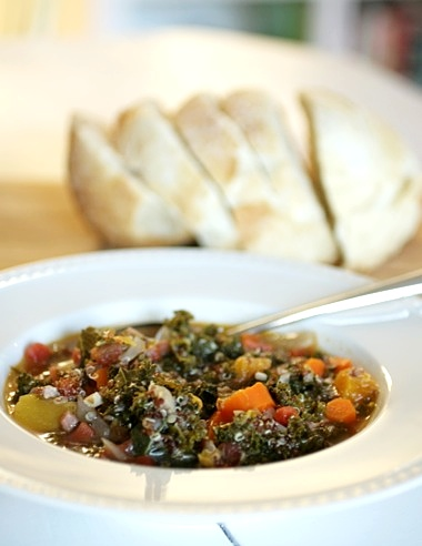 Sing For Your SupperKale, Butternut Squash, and Quinoa Soup... - Sing ...