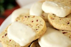 pistachio cranberry shortbreads 3