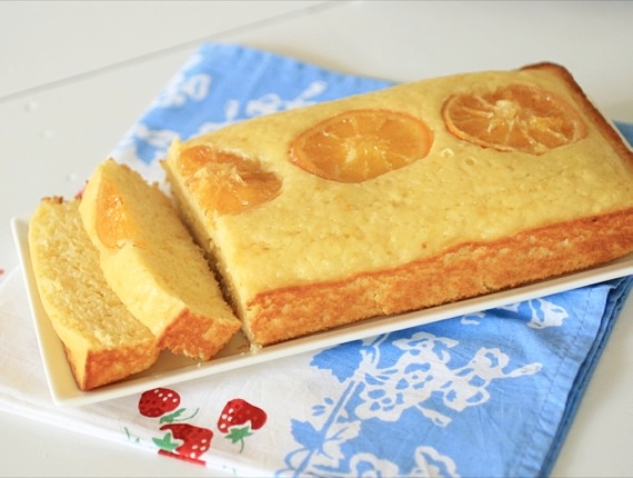 orange yogurt cake 2