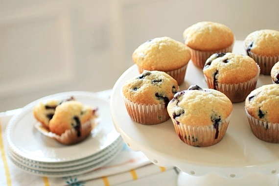 Classic Blueberry Muffins 2