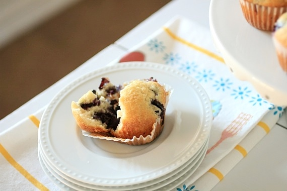 Classic Blueberry Muffins 3