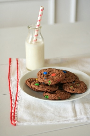 Chocolate M&M Sugar Cookies 2