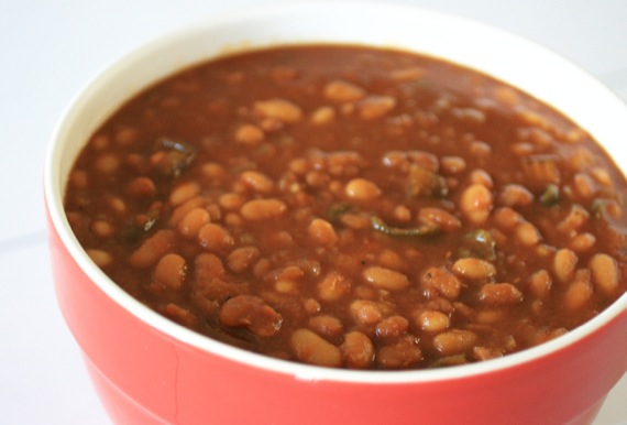 Crockpot Brown Sugar Baked Beans