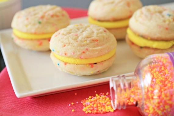 Funfetti Sandwich Cookies 2
