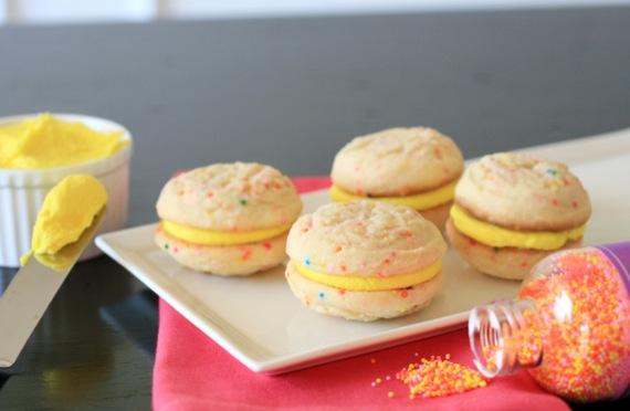 Funfetti Sandwich Cookies 3