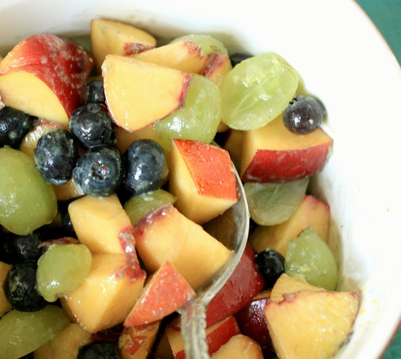 Secret Ingredient Fruit Salad