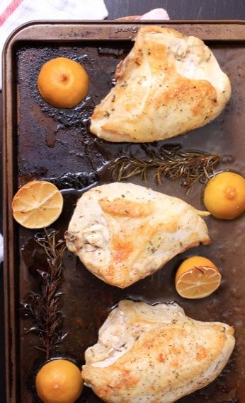 Lemon Rosemary Roast Chicken Breasts… Thursday, January 16, 2014