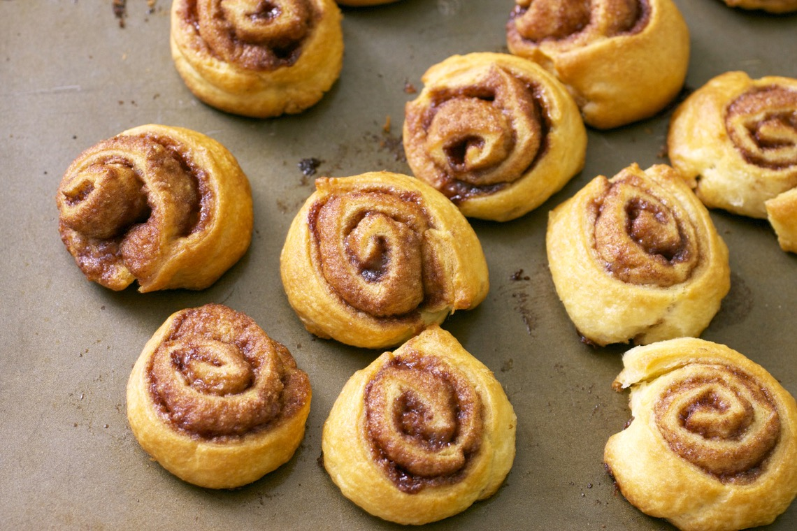 Mini Cinnamon Rolls 2