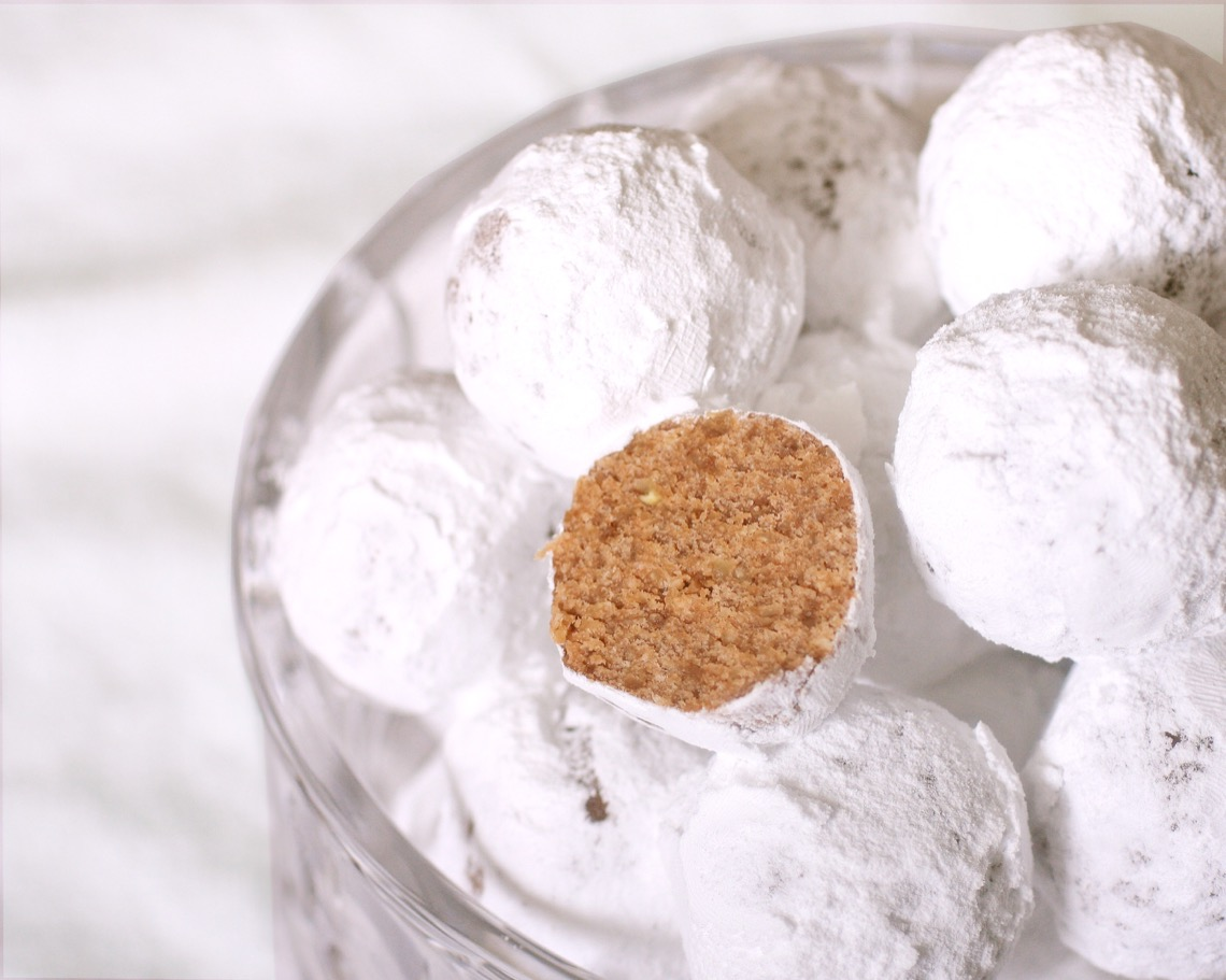 No-Bake Rum Balls… Friday, December 19, 2014