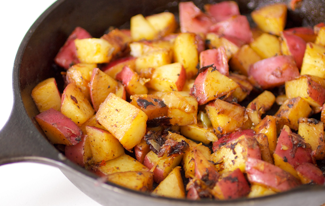 Skillet Potatoes-2